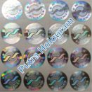 Stiker Hologram Emas Finance